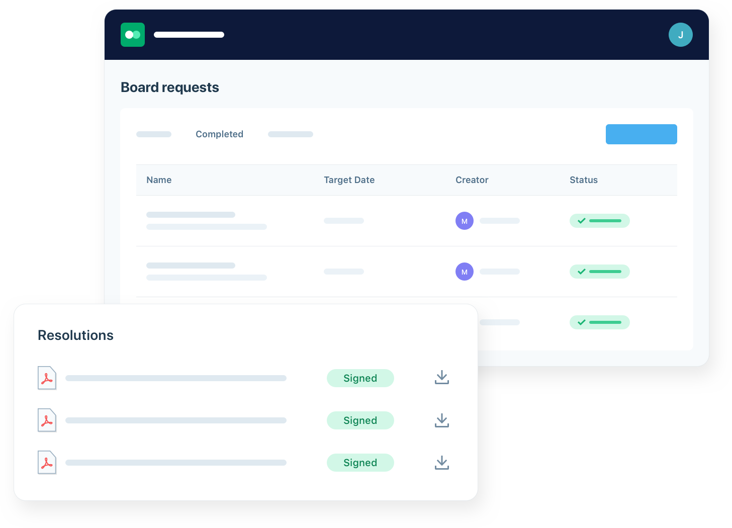 Save time organizing board documents